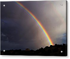 Over The Rainbow Acrylic Print