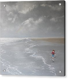 Over The Rainbow Acrylic Print by Paul Newcastle