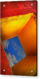 Over The Rainbow Acrylic Print by Skip Hunt