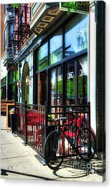 Over The Rhine In Cincinnati # 10 Acrylic Print by Mel Steinhauer