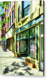 Over The Rhine In Cincinnati # 11 Acrylic Print by Mel Steinhauer