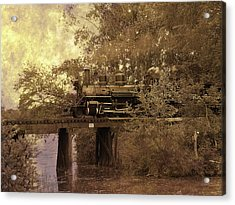 Over The River Acrylic Print by Scott Hovind