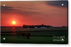 Just Over Yonder Acrylic Print by Lisa Phillips