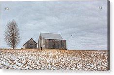 Overcast Acrylic Print by Bill Wakeley