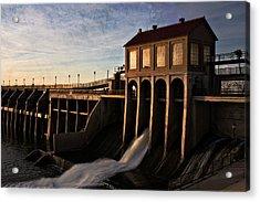 Overholser Dam Acrylic Print