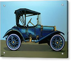 Overland 1911 Painting Acrylic Print by Paul Meijering