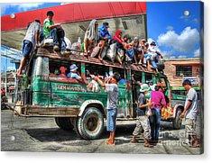 Overload Acrylic Print by Yhun Suarez
