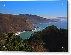 Overlooking Marin Headlands Acrylic Print