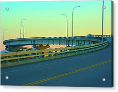 Overpass Acrylic Print by Paul Kloschinsky