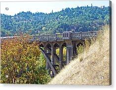 Overpass Underpinnings Acrylic Print