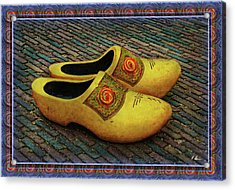 Acrylic Print featuring the photograph Oversized Dutch Clogs by Hanny Heim
