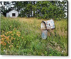 Overtaken By Time Acrylic Print by Cricket Hackmann