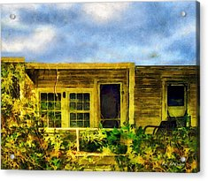 Overtaken Acrylic Print by RC deWinter