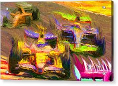 Overtaking Acrylic Print by Caito Junqueira