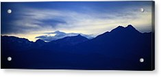 Overview Acrylic Print by Augustina Trejo