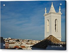Overview Of Tavira City. Portugal Acrylic Print by Angelo DeVal