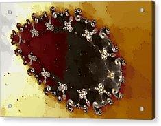 Ovoid Cluster Acrylic Print