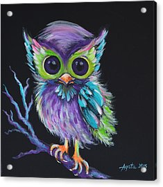 Owl Be Your Friend Acrylic Print
