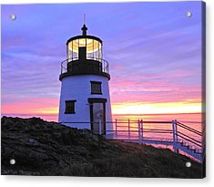 Owls Head Light Acrylic Print