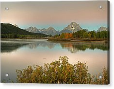 Acrylic Print featuring the photograph Oxbow Bend by Gary Lengyel