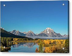 Oxbow Bend Acrylic Print by Mary Hone