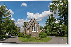 Oxford Church Acrylic Print