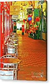 Oxford Covered Market Hdr Acrylic Print