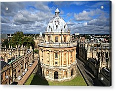 Oxford Library And Spires Acrylic Print