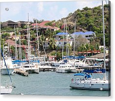 Acrylic Print featuring the photograph Oyster Bay Marina by Margaret Bobb