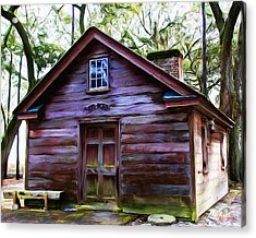 Oyster House On  Henry Ford Plantation Acrylic Print by Fred Baird
