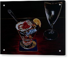 Oyster Shooter Acrylic Print by Susan Duda