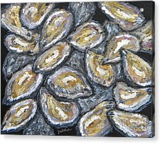 Oyster Stack Acrylic Print