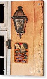 Oysters On The Half Shell Acrylic Print by Frances Ann Hattier