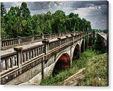 Ozark Alabama Bridge Acrylic Print by Frank Feliciano