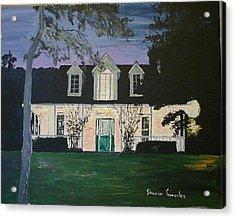 Ozark House At Dusk Acrylic Print by Sharon  De Vore