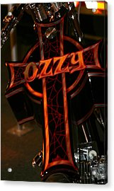 Ozzy Bike Acrylic Print by Robert  Torkomian