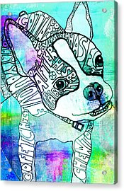 Ozzy Boy Blues Acrylic Print