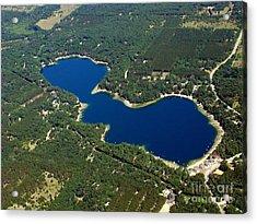 P-012 Pearl Lake Waushara County Wisconsin Acrylic Print by Bill Lang