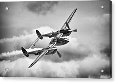 P-38 Lightning Acrylic Print