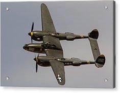 P-38 Skidoo Acrylic Print