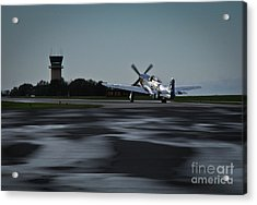 Acrylic Print featuring the photograph P-51  by Douglas Stucky