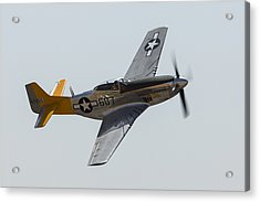 P-51 Spam In A Can Acrylic Print