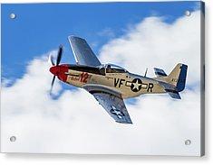 P-51 The Rebel Acrylic Print