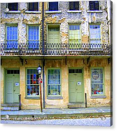 P Forbidden In Downtown Harpers Ferry  Acrylic Print by Don Struke
