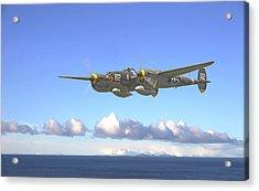 P38 - Long Way Home Acrylic Print