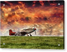 P51 Warbird Acrylic Print