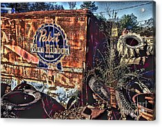 Pabst Blue Ribbon Delievery Truck Acrylic Print