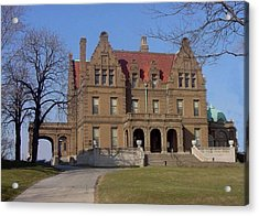 Pabst Mansion Photo Acrylic Print by Anita Burgermeister