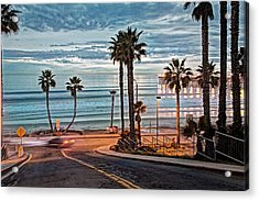 Pacific And 1st Street Acrylic Print by Ann Patterson