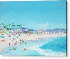 Pacific Beach In San Diego Acrylic Print
